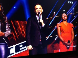 Azania Noah on The Voice