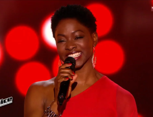Azania Noah brille dans « THE VOICE » France (TF1 TV) !
