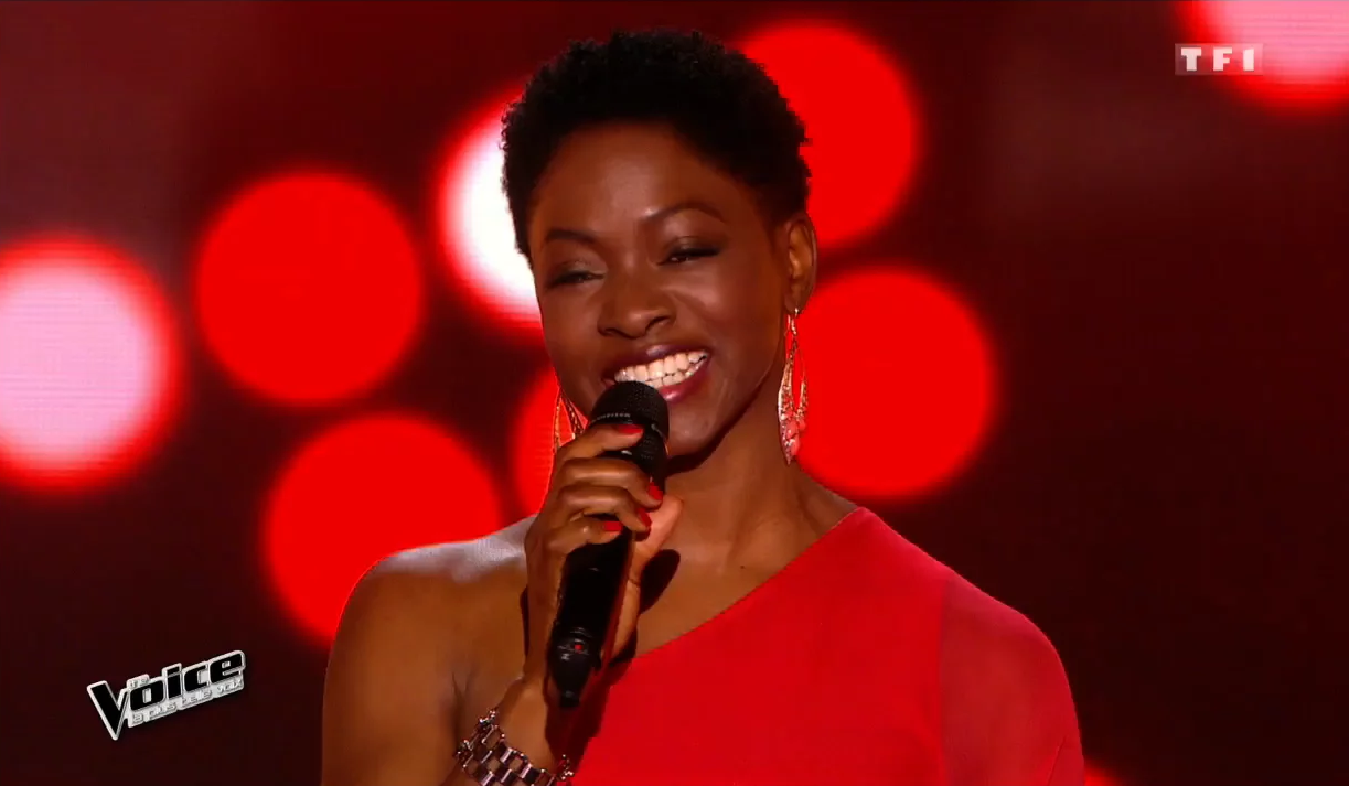 "Azania Noah brille dans ""THE VOICE"" France (TF1 TV) !"