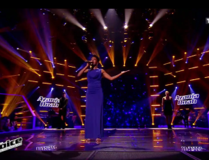 "Azania Noah – THE VOICE 2015 (Knockout – ""Aimer jusqu'à l'impossible"")"