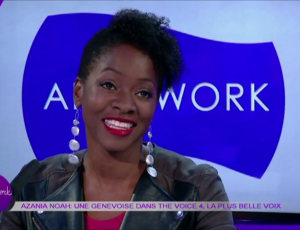 Azania Noah on Afterwork show – Leman Bleu TV